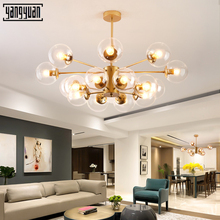 2019 New Modern led pendant Lamp Nordic Dining Room Designer Hanging Lamps Lustre Light fixtures living room glass pendant light pendant lamps office lamps modern simple and innovative nordic glass wine cup coffee bar dining room pendant light zh fg451