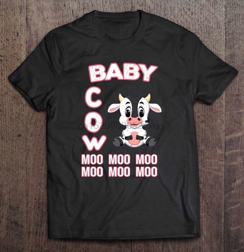 Cow MOOO Funny Women/'s T-SHIRT ALL SIZES # Black