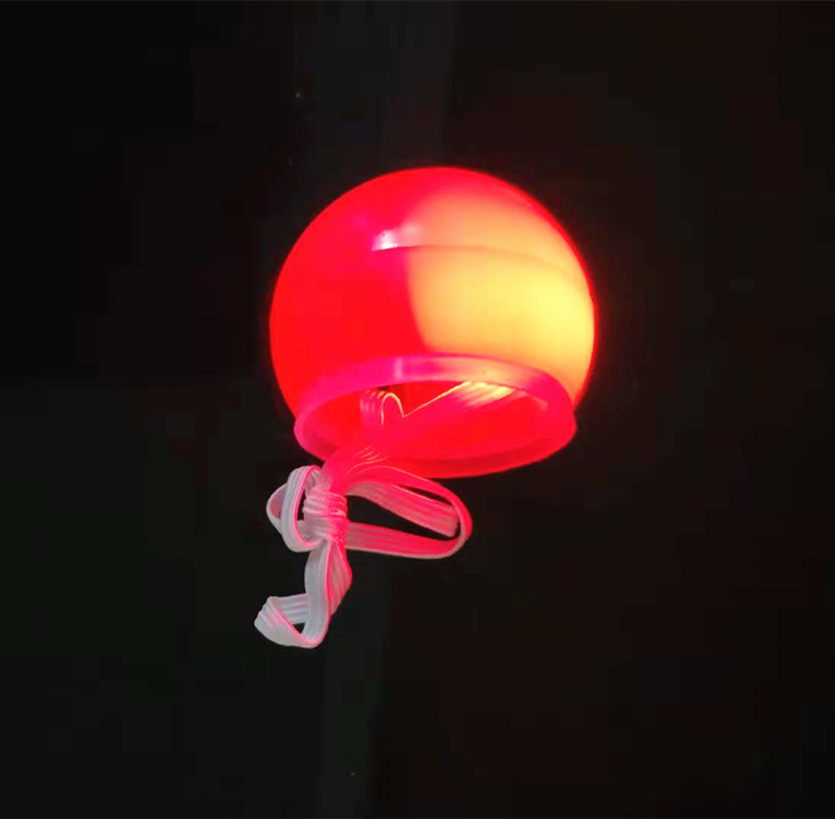 Light Up Cute Red Clown Nose LED for Halloween Christmas Party Cosplay Decoration Accessory New Years Eve Party Supplies