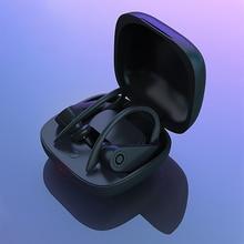 B10 Wireless Charging Bluetooth 5.0 Headset  Sports Ear Hook Earphones With microphone True Headphones For Xiaomi Huawe