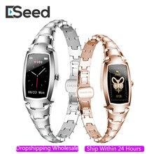Eseed 2021 H8 pro Смарт-часы женские модные милые женские часы с пульсометром и напоминанием о звонках Bluetooth для IOS Android