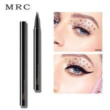 где купить MRC Cosmetics Black Liquid Eyeliner waterproof long lasting Gel eye liner easy to wear eyeliner pen  pencil  Eye Makeup Tools дешево
