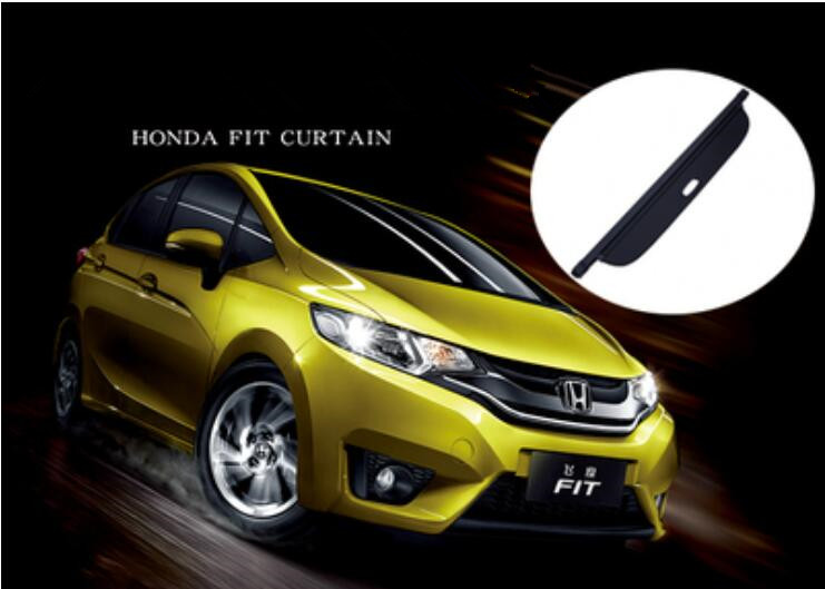For Honda Fit Car Rear Trunk Security Shield Cargo Screen Shield Shade Cover For Honda Fit 2014 2015 2016 2017 2018