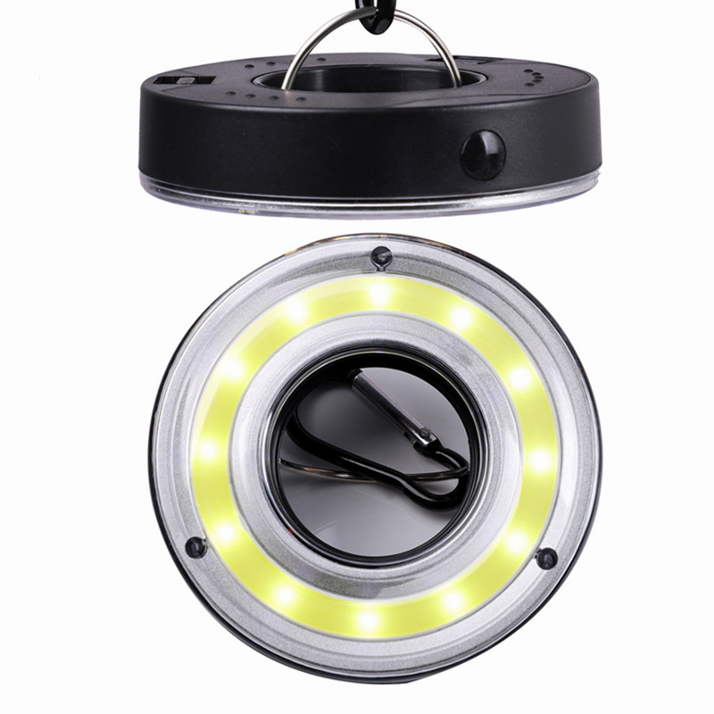 1PC Camping Lights LED Bulb Battery Powered Tent Light Hook Flashlight Tent Light Bulb Hanging Lamp Portable Lantern With Hooks