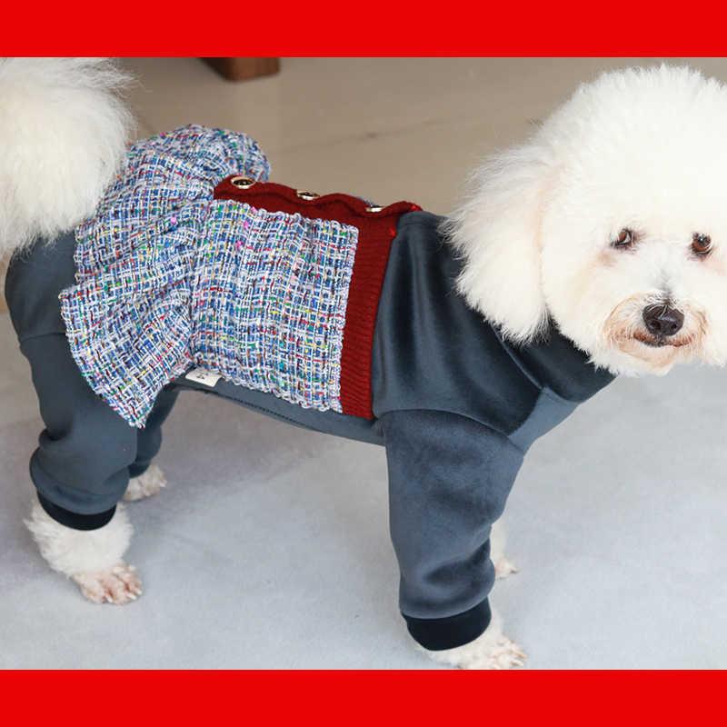 abrigo para perro ropa para mascotas ropa de franela para perro abrigo para perro disfraz de perro Leikance Ropa de invierno para perro