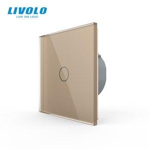 Image 1 - Công tắc cảm ứng Livolo Treo Tường cao cấp Cảm Ứng Cảm Biến, Công Tắc Đèn, công tắc điện, Thủy Tinh Pha Lê, Ổ Cắm Điện, đa năng ổ cắm, Tự Do Lựa Chọn