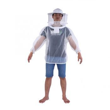 Kombinezon pszczelarski profesjonalna kurtka pszczelarska przezroczysta odzież pszczelarska kombinezon ochronny z kapturem tanie i dobre opinie CN (pochodzenie) Pościel