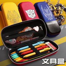 Transformers Pencil Case Cute Stationery Box MBD090-093-6 School Supplies Office Pouch  Korean Bag