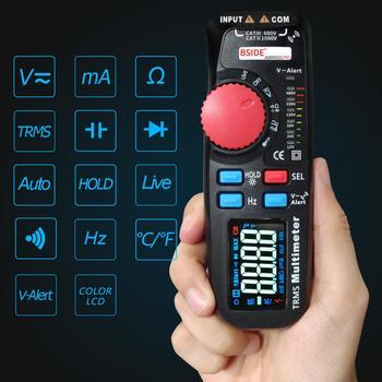 dual mode multimeter digital voltmeter bside 92cl pro color display voltage indicator current capacitance ncv