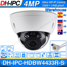 Dahua IPC HDBW4433R S 4MP IPกล้องเปลี่ยนIPC HDBW4431R Sพร้อมPOEช่องเสียบการ์ดSD IK10 IP67 Dahua Starnight Smart Detect