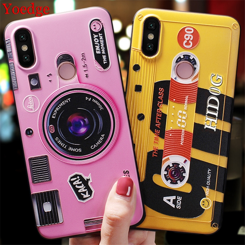 3D Relief Cover For Xiaomi Redmi 9A 7A 8A Note 8 5 6 7 9 Pro 8T Coque For Xiomi Mi A3 A1 A2 Mi 9 8 10 Lite 9T CC9 CC9e TPU Case(China)
