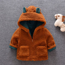 Clothing Jackets Baby-Coats Winter Children's And Teddy Casual