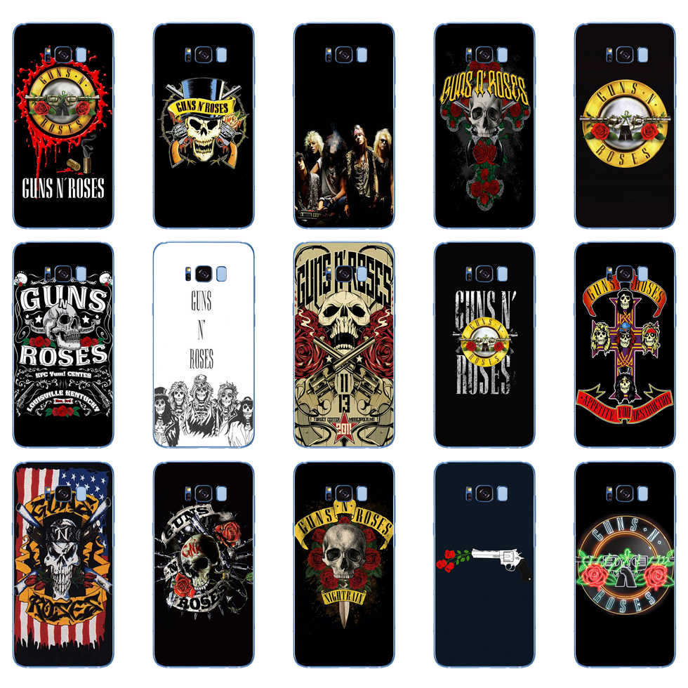 35DD Guns N Roses Soft Silicone Cover Case Voor Samsung Galaxy S6 S7 Rand S8 S9 S10 Plus A70 A50 case
