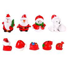 Christmas Ornaments Resin Ornament Doll Pendant Handmade Snowman Doll Decorative Children's Gift Crafts Jewelry Festive Party(China)