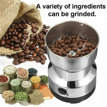 Coffee-Bean-Grinder Milling-Machine Spices Kitchenware Grains Office Electric Stainless-Steel