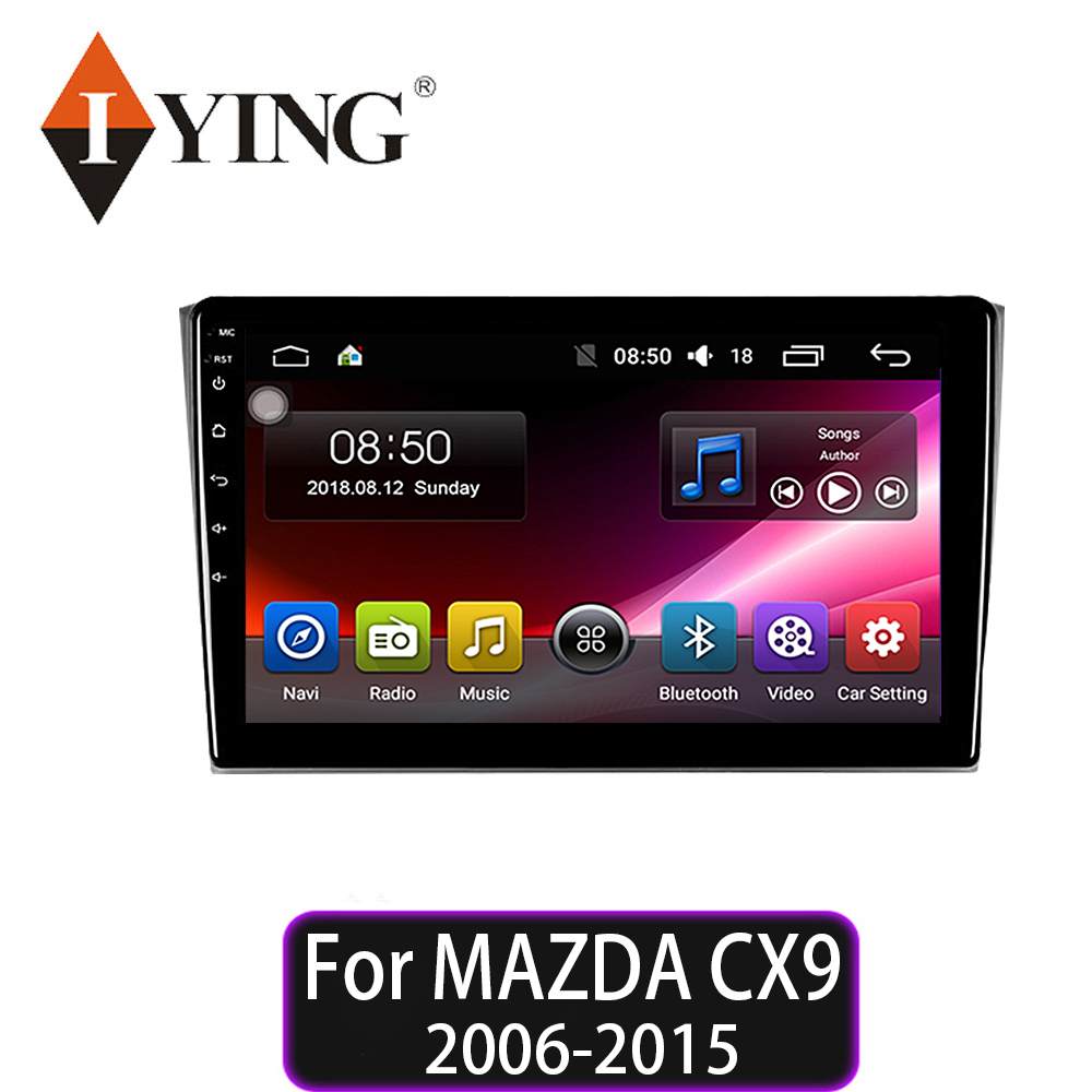 IYING car radio android 9 for <font><b>MAZDA</b></font> <font><b>cx9</b></font> CX-9 2006 2007 2008 2009 2010 2011 2013 2014 2015 car multimedia player radio No 2din image