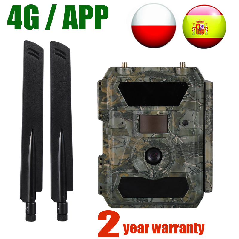 Willfine 4.0CG 4G APP Hunting Cameras 0.4 S Trigger Speed Wildlife Trap Cameras 20M Range 4G APP Scouting Trail Cameras