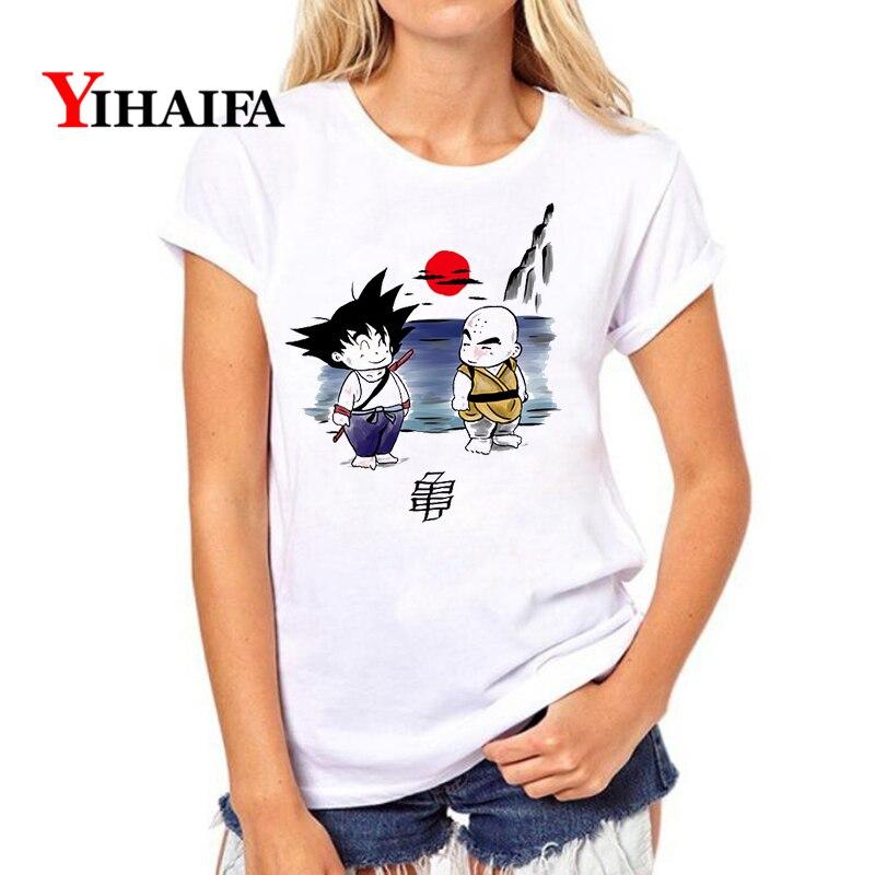 3D Print Dragon Ball Z Short Sleeve Women Men Casual Cartoon T-Shirt Tops Tee