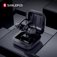 SANLEPUS Led Bluetooth Earphone Wireless Headphones TWS Stereo Earbuds Handsfree Phone Gaming Headset For Apple Xiaomi Android