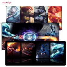 лучшая цена DOTA Speed Version Large Gaming Mouse Pad Lockedge Mouse Mat For Laptop Computer Desk Pad Keyboard Mat For CSGO LOL