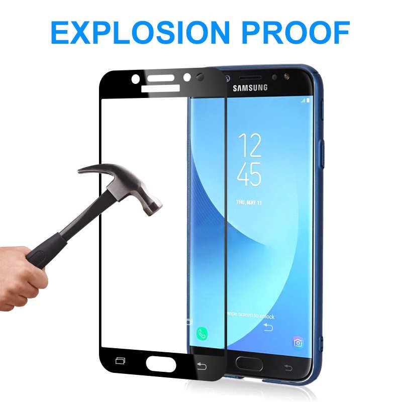Защитный Стекло на для Samsung Galaxy A3 A5 A7 2017 2016 J3 J5 J7 2016 2017 S7 закаленное Экран протектор Стекло защитная пленка