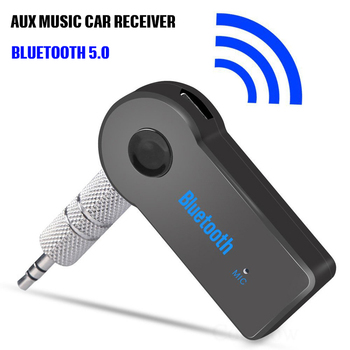 Wireless Bluetooth Car Receiver 5.0 Adapter 3.5mm Jack Audio Transmitter Handsfree Phone Call AUX Music Receiver for Home TV MP3 bluetooth handsfree kit car auto 3 5mm jack aux bluetooth wireless music mp3 audio adapter earphone receiver dropshipping 2020