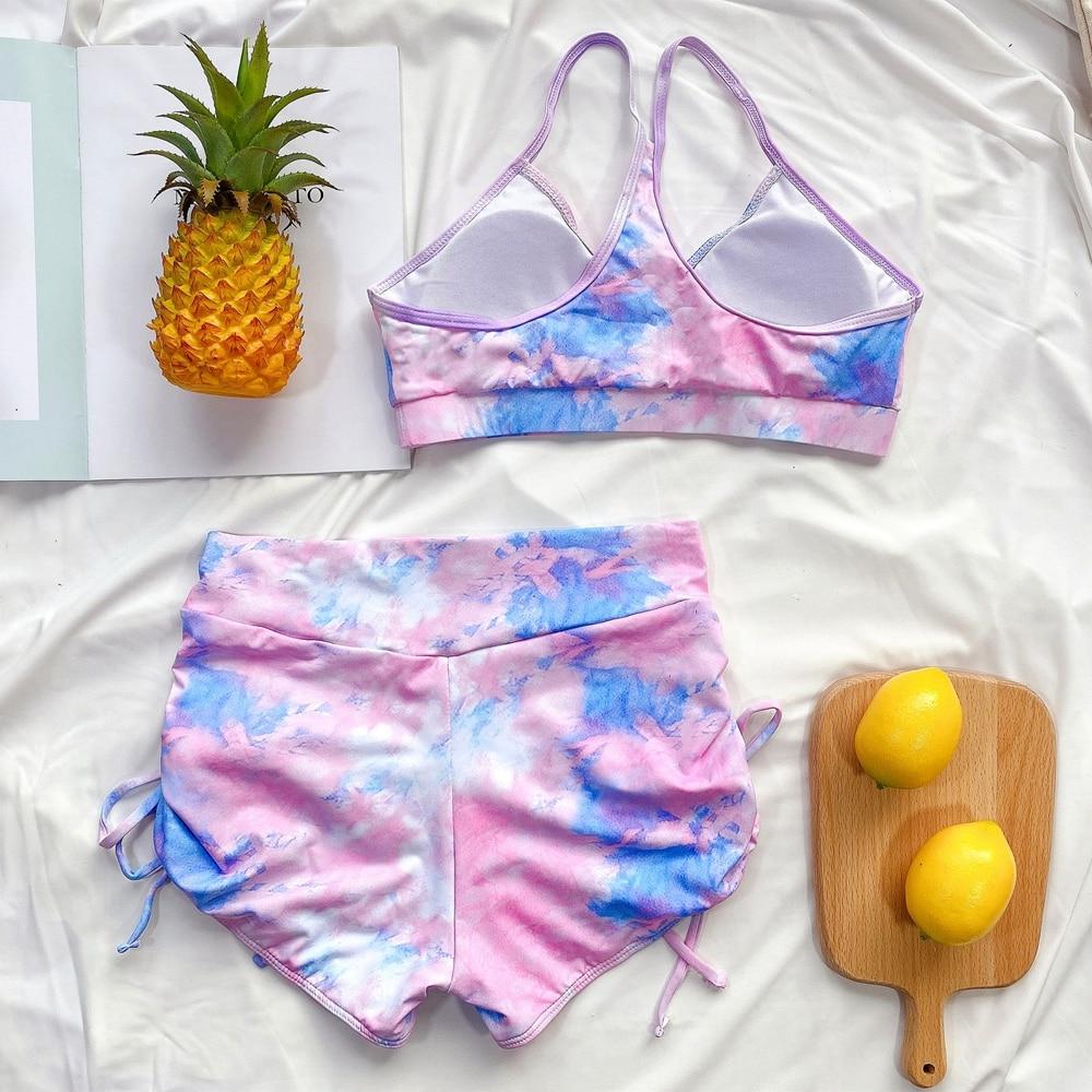 Women's Seamless Yoga Set Bra & Legging Shorts