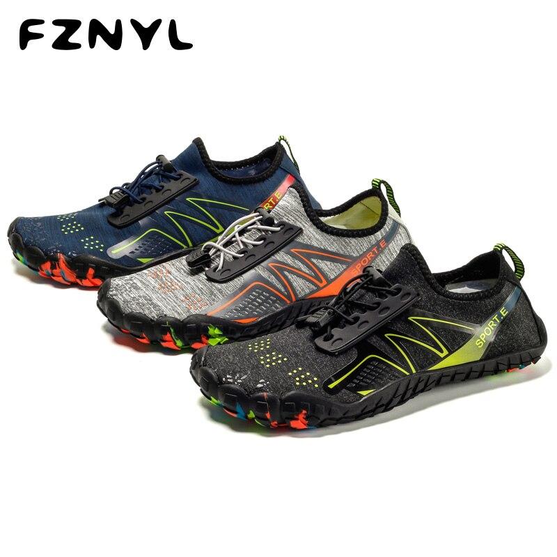 FZNYL Men Women Aqua Shoes Quick Dry River Sea Slippers Diving Swimming Socks Water Shoes Slip On Slides Beach Water Socks Shoes