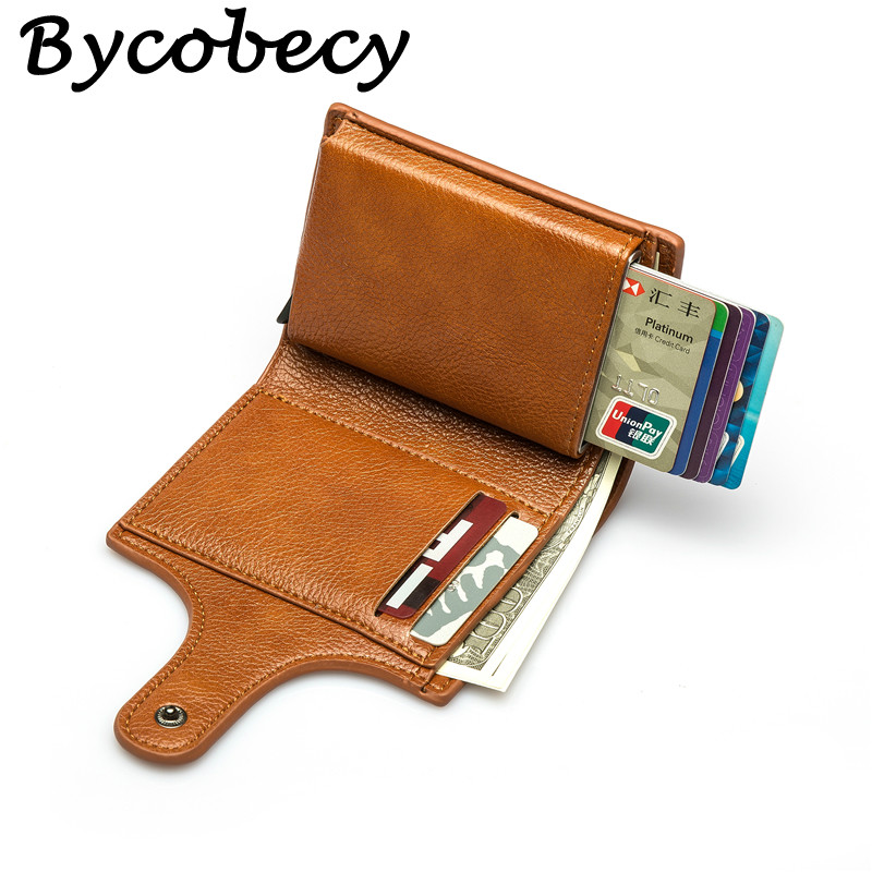 Bycobecy 2019 Women Wallet Top Quality PU Leather Men Wallets Smart Slim Mini Ladies Wallet Vintage Solid Wallets And Purses