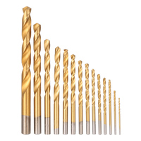 99pcs HSS Titanium Coated Twist Drill Bit Set 1.5 10mm Twist Drills Bits Kit ferramentas hand repair dremel tools with Case Box Drill Bits    -