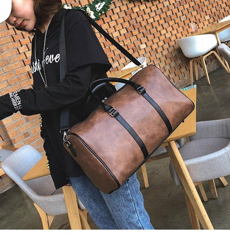 saco sacos de bagagem preto marrom fitness sacos de ombro xa315m