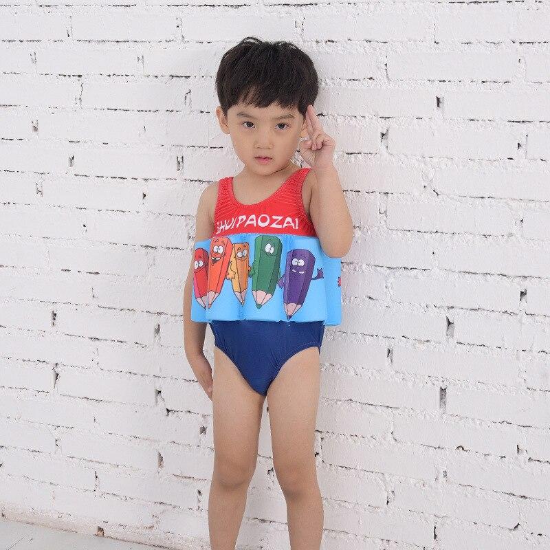 Kids CHILDREN'S Swimsuit Girls Infant CHILDREN'S One-piece Buoyancy Baby Floating Boys' Swimming Trunks BOY'S Swimsuit GIRL'S