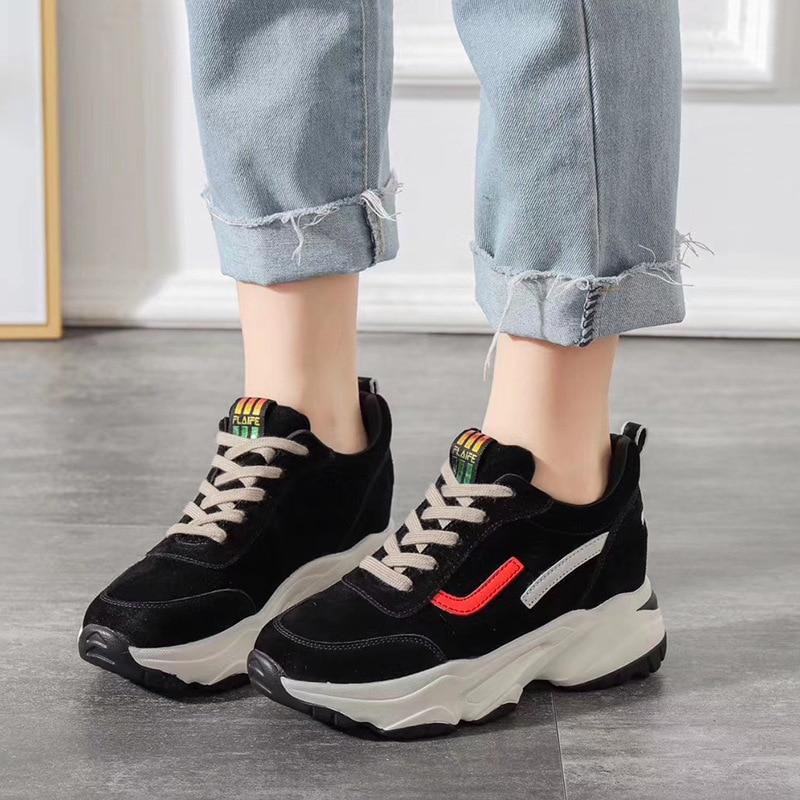 Zapatillas gruesas de plataforma para mujer 2019 moda hebilla de malla zapatos gruesos de Mujer Zapatos de vulcanización para mujer N9-09 Nuevas Sandalias de plataforma ADBOOV, Sandalias gruesas de verano de suela gruesa para Mujer, Sandalias planas de 2 piezas, Sandalias de Mujer 2019