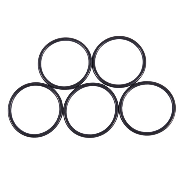 5 Pcs <font><b>60mm</b></font> x 4mm Black Rubber Sealing Oil Filter <font><b>O</b></font> <font><b>Rings</b></font> Gaskets image