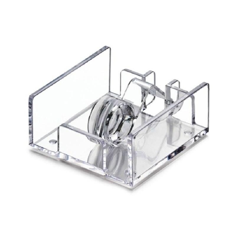Квадратный из прозрачного акрила держатель для коктейльных салфеток диспенсер для бумажных салфеток коробка для салфеток бар Caddy для обеденного стола Отель домашний декор