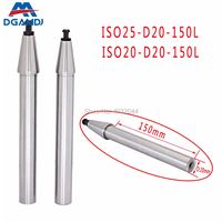 ISO20 ISO25 HSK25E HSK32E HSK40E spindle accuracy test rod 100L 150L 200L accuracy 0.001mm