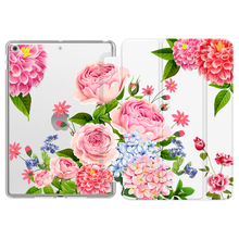 Case for New iPad 7th Generation 10.2 2019,[Flexible TPU Translucent Frosted Back] Slim Smart Stand Protective Cover with Auto