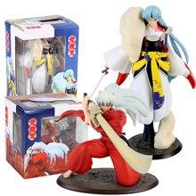 Anime Inuyasha Action Figure Sesshoumaru Hund Dämon Tessaiga Tenseiga Schwert Modell Spielzeug