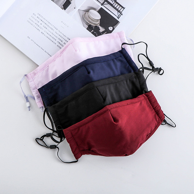 Fashion Folding PM 2.5 Cotton Allergy Flu Fust Proof Mask Mouth Fashion Sport Breathing  Carbon Filter Face Mask