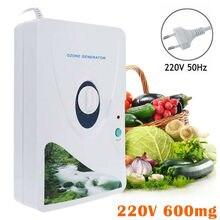 600 mg/h אוזון גנרטור Ozonator ionizer O3 מעקר טיימר אוויר מטהרי טיהור פירות ירקות ozonator ionizator