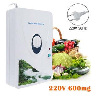 Image 1 - 600mg/h Ozone Generator Ozonator ionizer O3 Sterilizer Timer Air Purifiers Purification Fruit Vegetables ozonator ionizator