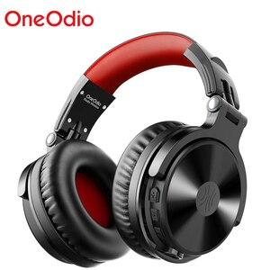 Image 1 - Oneodio auriculares inalámbricos con micrófono extensible para videojuegos, plegables, portátiles, Bluetooth V5.0