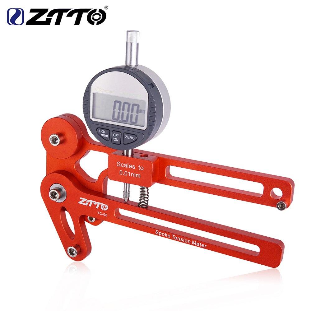 ZTTO vélo Tension mètre électronique précision rayons damier vélo roue constructeurs outil tendeur fiable précis Stable TC-02