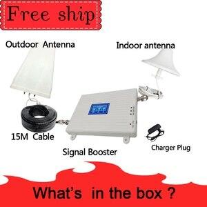 Image 5 - TFX BOOSTER 2g 3g 4g трехдиапазонный усилитель сигнала 70 дБ 23 дБм CDMA WCDMA UMTS LTE сотовый ретранслятор 850/1800 МГц усилитель