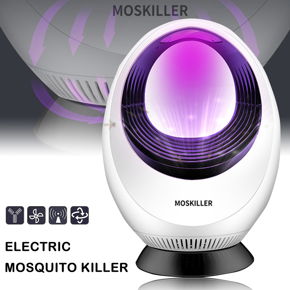Mosquito Killer Lamp Electric Mosquito Repellent Lamp USB Photocatalys Mosquito Killer Mute LED Bug Zapper Insect Mosquito Trap(China)