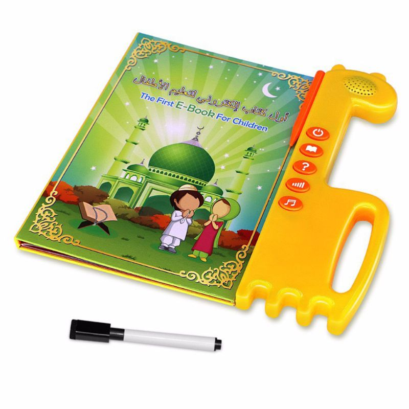 Islamic Ebook Kids English Arabic Touchpad Voice Learning Book Al-Quran E-Book Baby Toy Early Education