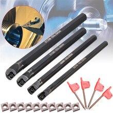 CCMT Holder-Set Boring-Bar-Tool-Holder Lathe of Inserts-Machine-Tool SCLCR 0602 7/8/10/12mm