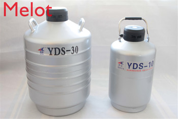 3/6/10/15/30L Liquid nitrogen container Cryogenic Tank dewar liquid nitrogen container with Liquid Nitrogen tank YDS-10 yds 50b small capacity cryogenic liquid nitrogen tank