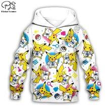 Kids Cloth Pokemon  Pikachu Cartoon 3d hoodies/tshirt/boy sweatshirt Hot Movie pant style-2