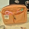 2020 Новая Большая сумка карман на молнии крутая сумка карандаш подарок Оранжевый Бесплатная доставка